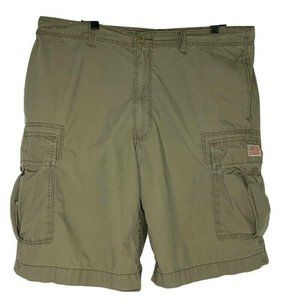 Polo Jeans Company Cargo Shorts Khaki Tan Flap Pkt